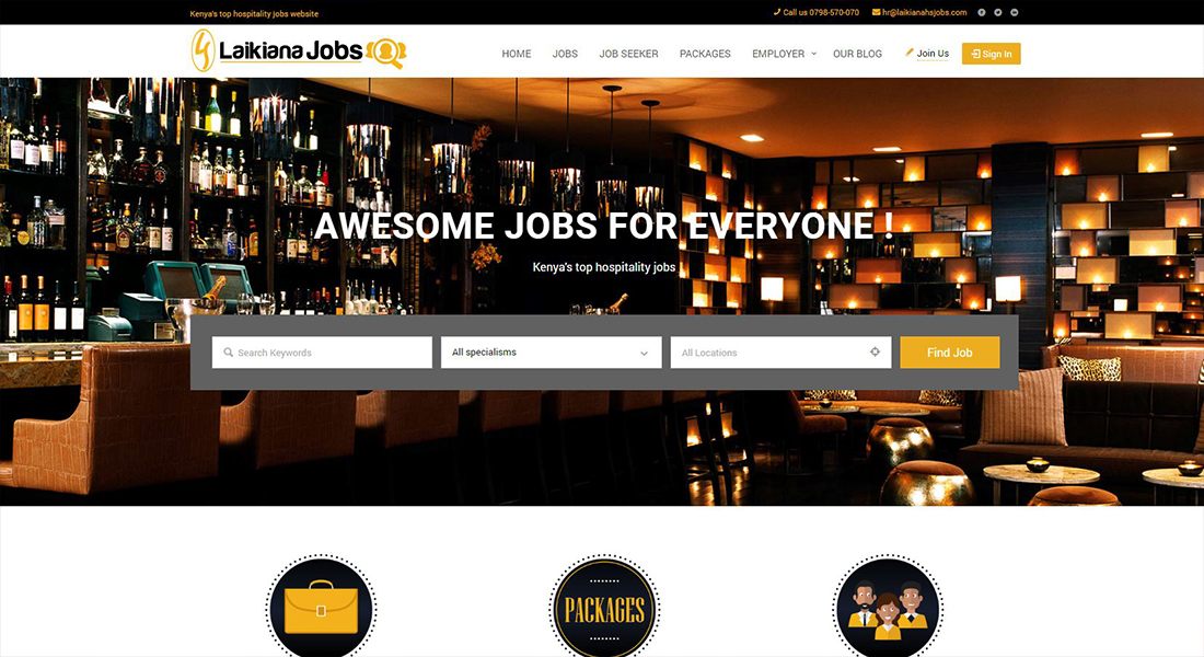 jobs dasboard